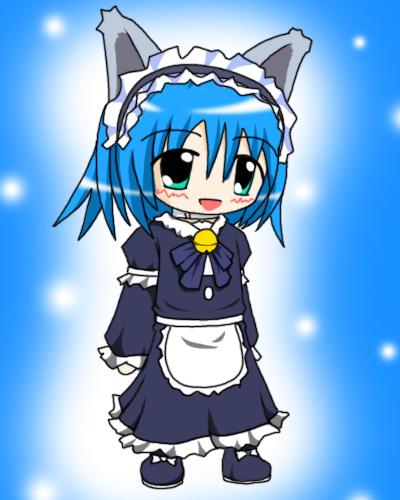 メイド服雪姫ちゃん